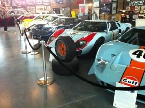 A row of GTs at the Museum