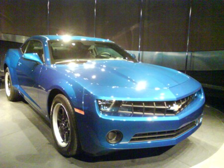 2010 Camaro at EPCOT's Test Track