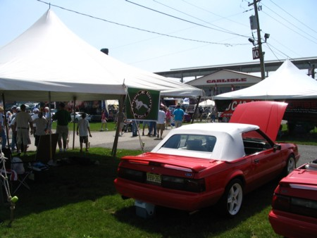 Tent from Carlisle All-Ford Nationals 2008