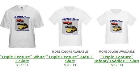 Shirts offered on cafepress.com