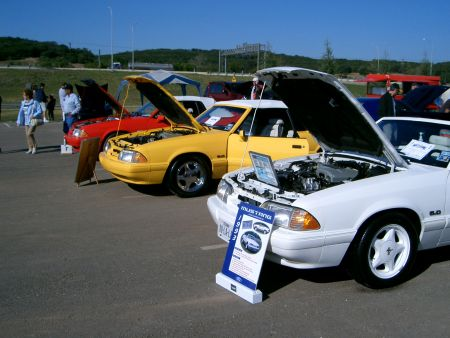 San Antonio Mustang Club Car Show